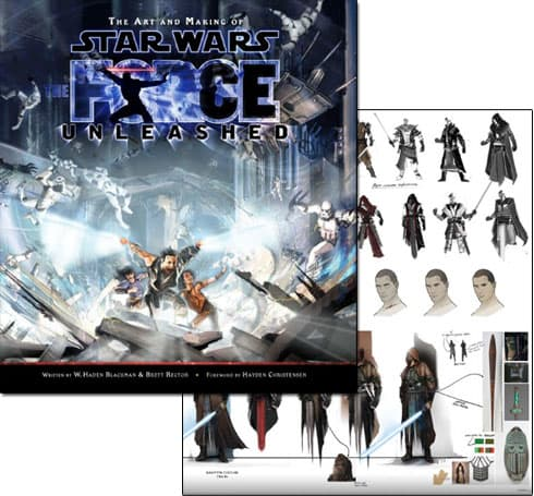 Joyswag: The Art and Making of Star Wars: The Force Unleashed book