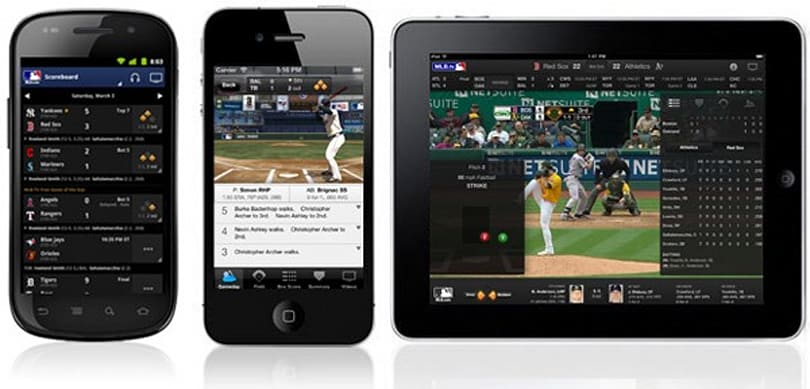 MLB at Bat 2012 app out for iDevices and Android, brings in-app monthly subscriptions to iOS