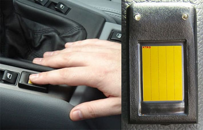 ATRD M10 offers fingerprint scanning for your car