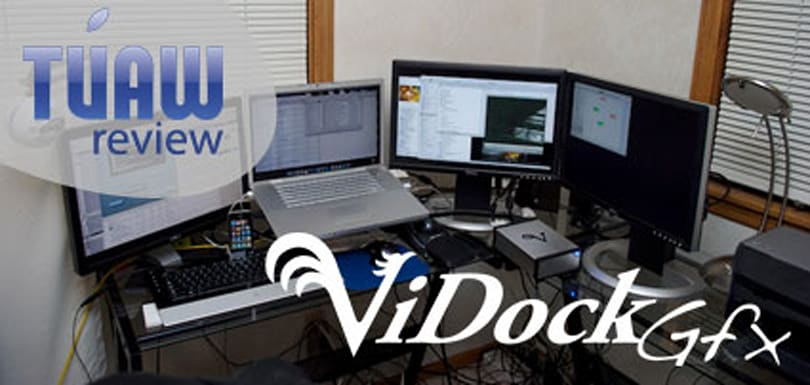 TUAW review: ViDock Gfx multi-monitor solution for MacBook Pro