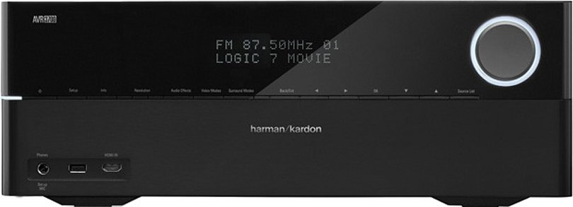Harman Kardon ships AVR 2700 and 3700 receivers with 4K scaling and AirPlay