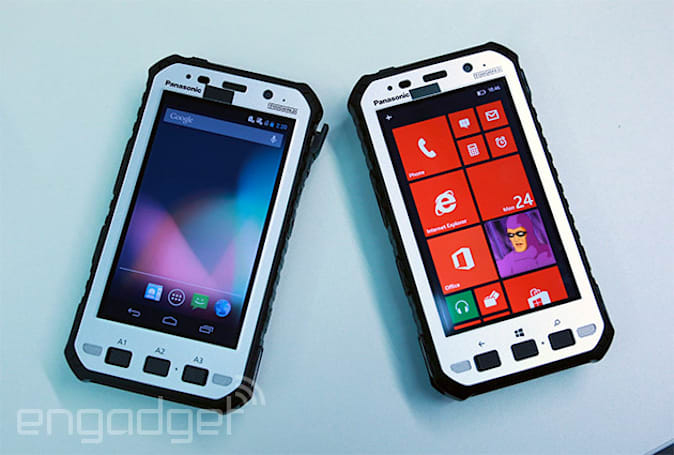 Panasonic's latest Toughpad has the strength, thickness of 10 smartphones (hands-on)