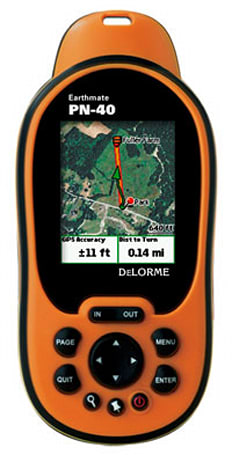DeLorme Earthmate PN-40 GPS unit for those of you who go outside