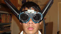 DIYer constructs Ultrasonic Batgoggles, doles out instructions