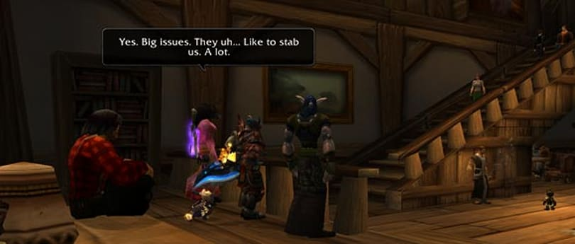 Taking the roleplay out of WoW