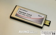 InnoDisk's 32GB Flash Disk ExpressCard also does USB 2.0