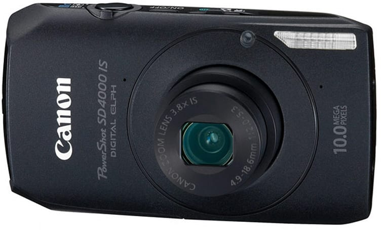 Canon PowerShot SD4000 IS reviewed: great shots but no cigar