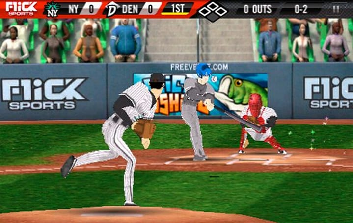 TUAW First Look: Flick Baseball Pro