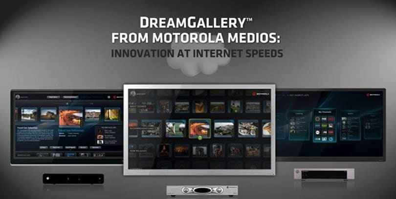 Motorola reinvents the TV interface with DreamGallery concept (video)