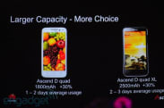 Huawei outs Ascend D Quad: 4.5-inch 720p display, Dolby 5.1, 1.5GHz K3V2 CPU
