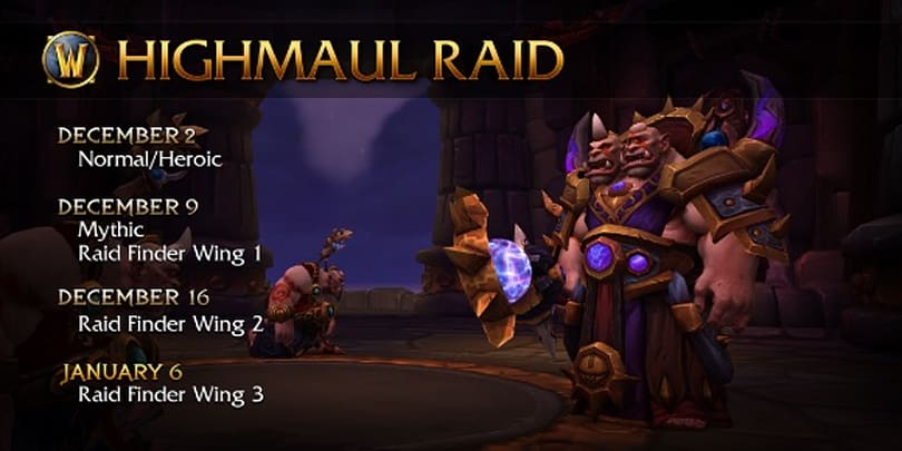 All wings of Highmaul LFR now available