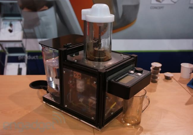 Cambridge Consultants Tê, the tea-machine of the future taste test (video)