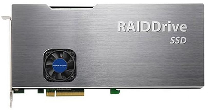 Super Talent's 2TB RAIDDrive shipping next month to the rich and silly