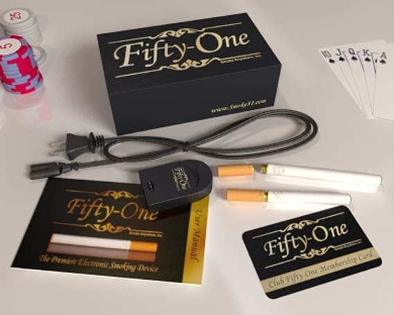 """Fifty-One"" e-cigarette will ensure you have no friends even after you quit smoking"