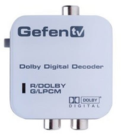 The GefenTV Digital Audio Decoder -- an answer to a question we're afraid to ask
