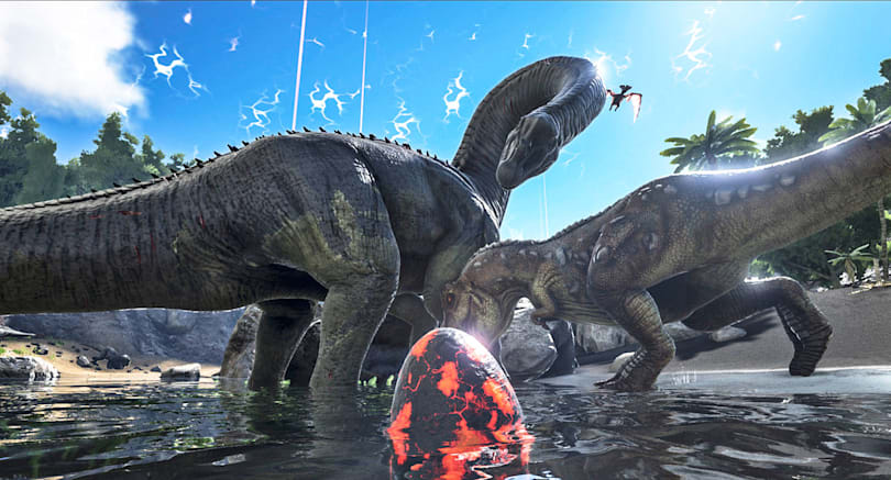 'Ark: Survival of the Fittest' brings dinosaur combat to PS4