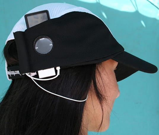 iSoundCap intros exercise-centric Running Cap