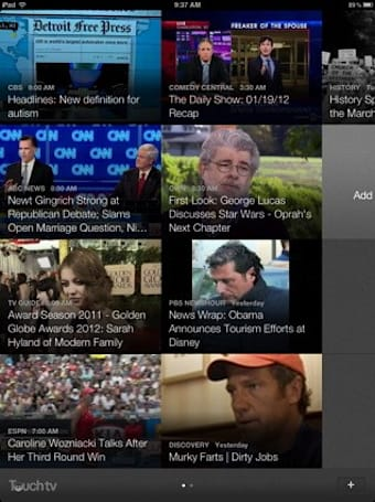 TouchTV comes to LG Smart TV, iPads: catch news clips at home, on the go