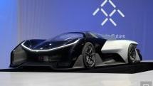 1014馬力のスーパーEV「FFZero1」公開。最高速322km/h、ネット接続や自動運転機能も搭載する1人乗り未来カー