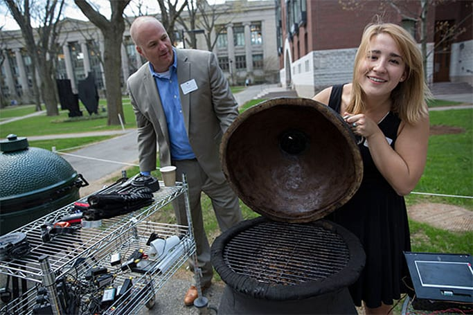 Harvard engineering class tries to make the best BBQ smoker