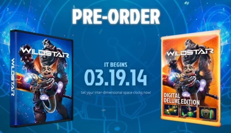 Pre-orders now open for WildStar
