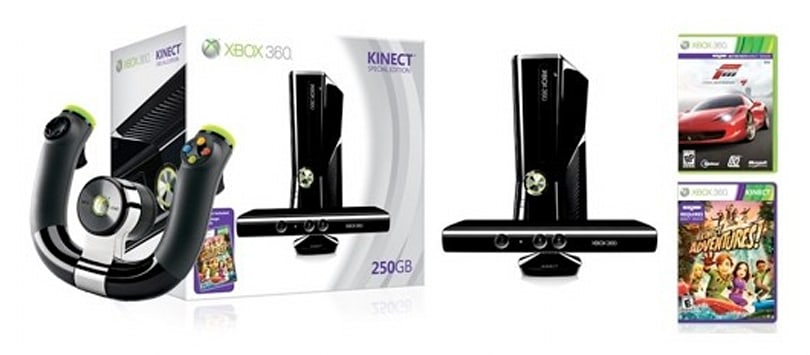 12 Days of Joyswag: 250GB Xbox 360 with Kinect, Forza Motorsport 4, and Wireless Speed Wheel