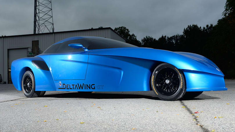 Panoz unveils a concept version of its arrow-shaped road car