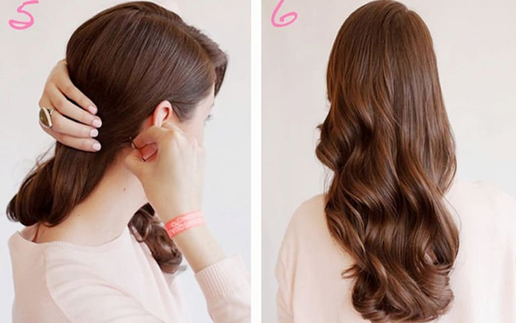 How to wear your hair down on prom night