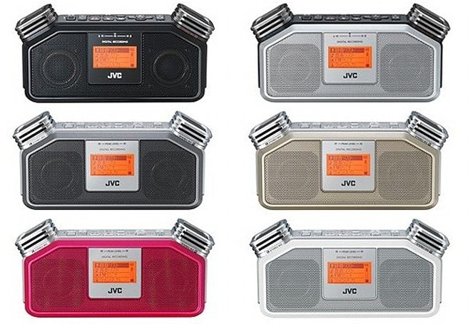 JVC's RD-R1 and RD-R2 boomboxes bring stereo recording capabilities, the studio to the streets