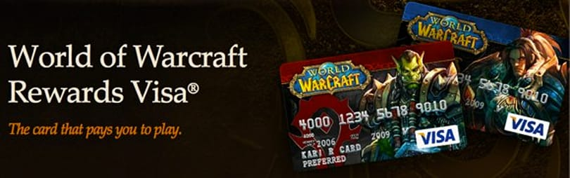 World of Warcraft Rewards Visa is getting a rewards upgrade