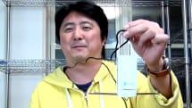 動画:クルクル回って洗濯物が乾かせる携帯乾燥機『ハンディセコ』をチェック、旅行や出張にどうぞ