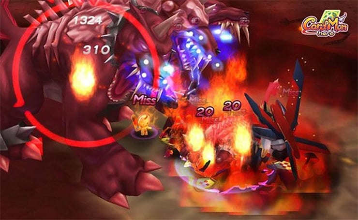 CardMon Hero offers up colorful new trailer
