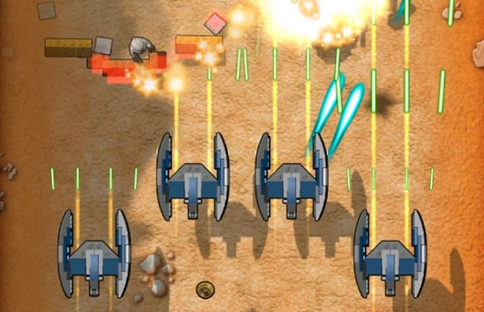 Lego Star Wars Microfighters zooms to iOS