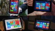 8インチ Windows 8.1タブレット比較、ASUS / エイサー / デル / 東芝 / レノボの4機種+1