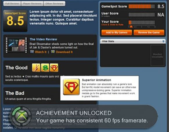 Gamespot changes review system, adds 'medals'
