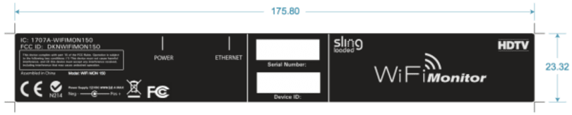 Sling Monitor 150 hits the FCC