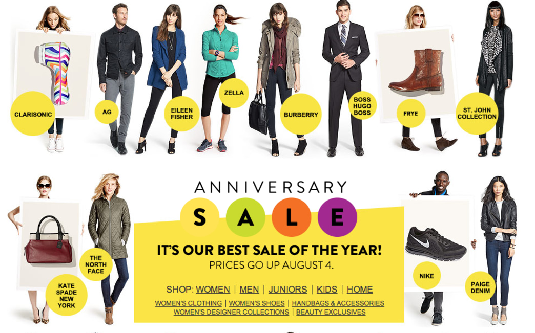Top 9 at 9: The Nordstrom Anniversary Sale begins, plus more style news