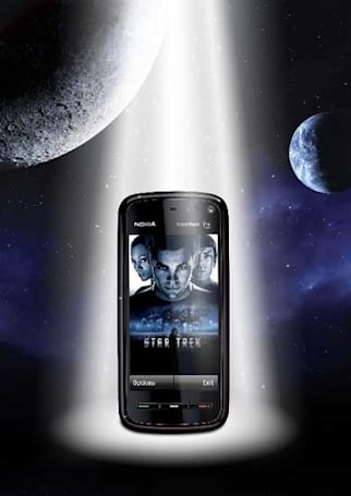 Star Trek edition Nokia 5800 announced: officially awesome