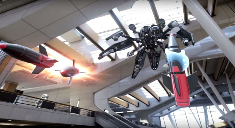 Epic Games reveals 'Bullet Train,' a sci-fi shooter for Oculus Touch