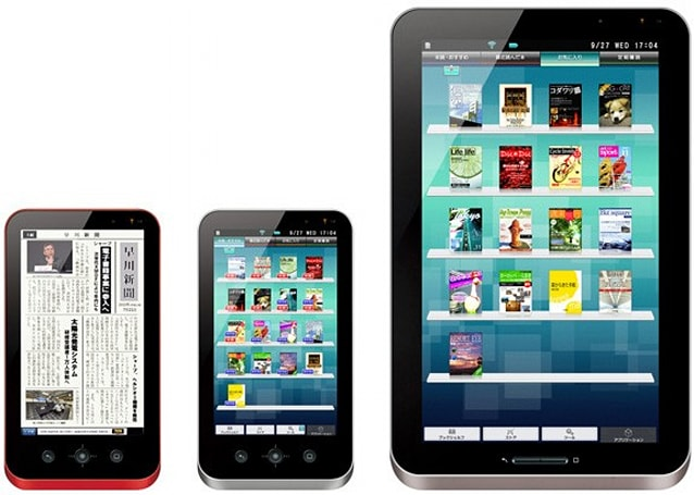 Sharp's Galapagos media tablets landing December 10, costing quite a few yen