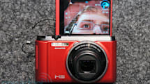 Casio joins the self-portrait LCD ranks with the €350 Exilim EX-ZR1000, we go hands-on (video)
