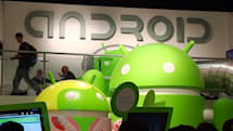 Google Android booth at MWC 2012: smoothies, robots, slides, oh my! (video)