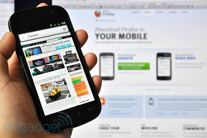 Mozilla Firefox 4 RC for Android and Maemo now up for grabs