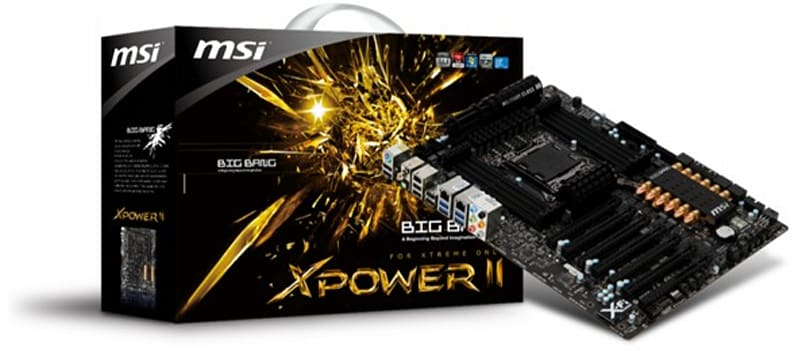 MSI launches Big Bang-XPower II motherboard for militant overclockers