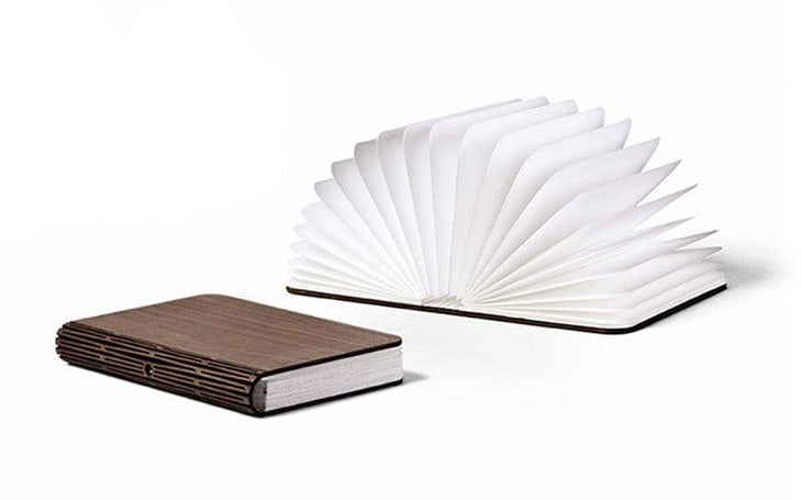 Lumio hides a lamp inside the pages of a book, takes to Kickstarter (video)