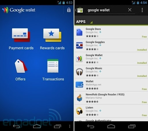 AT&T connected Galaxy Nexus, Nexus S get Android Market Google Wallet installs