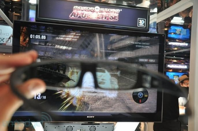 Sony restricts stereoscopic PS3 games to 720p 3D