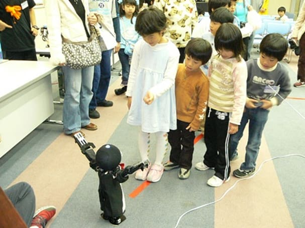 Caption contest: Robots, and our children who will serve them