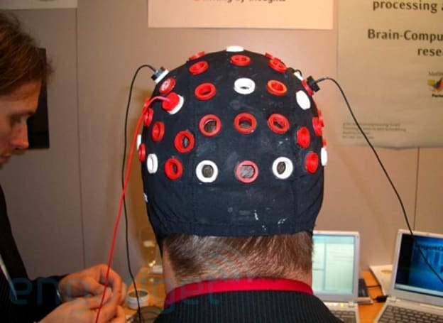 G-Tec's thought control hat
