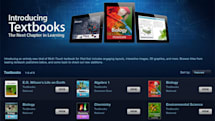 Apple launches iBooks 2 e-Textbook platform (video)